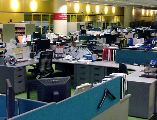 Wyposażenie biura – słówka niemieckie