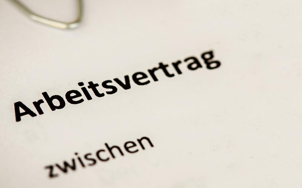 Niemiecka Umowa O Pracę Blog O Języku Niemieckim